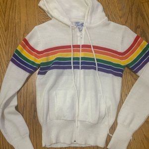 Zip up hoodie sweater